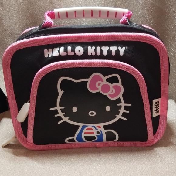 Hello Kitty Handbags - Hello Kitty Lunch Bag Cosmetic Bag